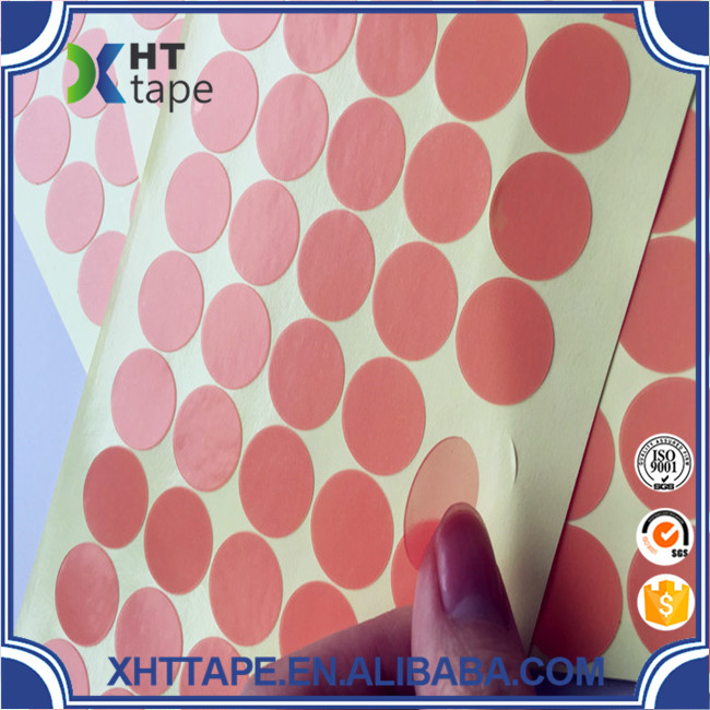 Red Liner Pet Double Sided Tape