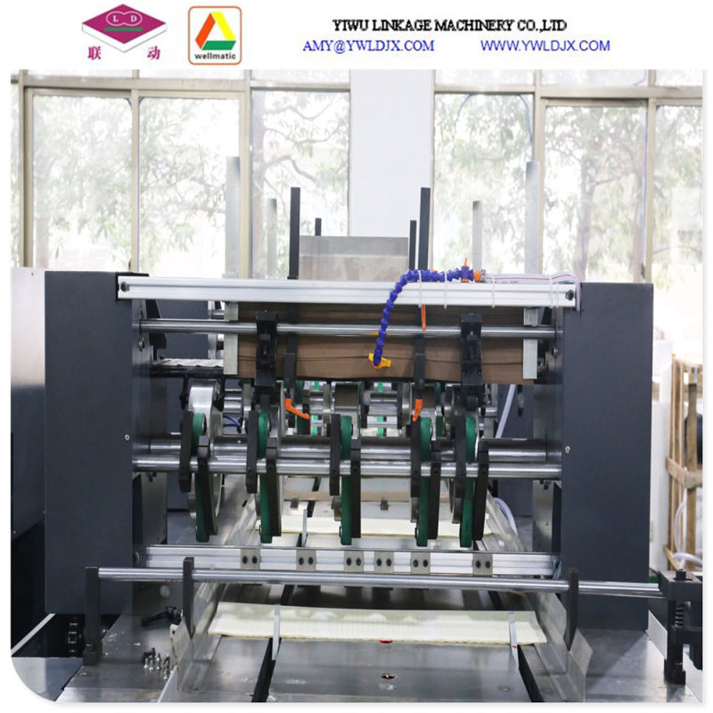 Full Automatic Book Printing and Adhesive Binding Machine
