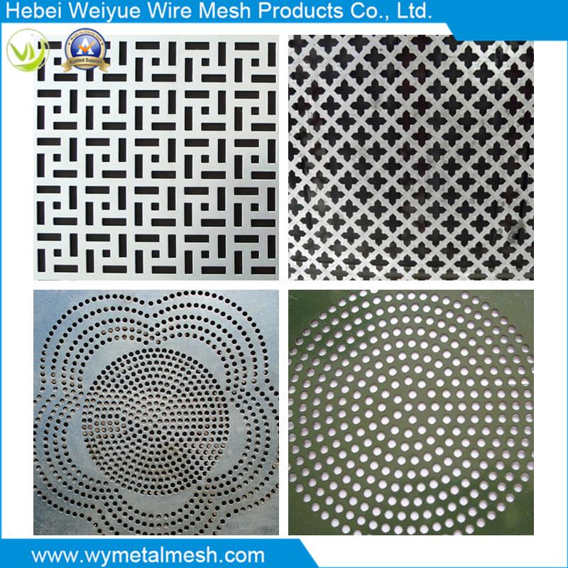 Round Shape Galvanized Perforated Metal