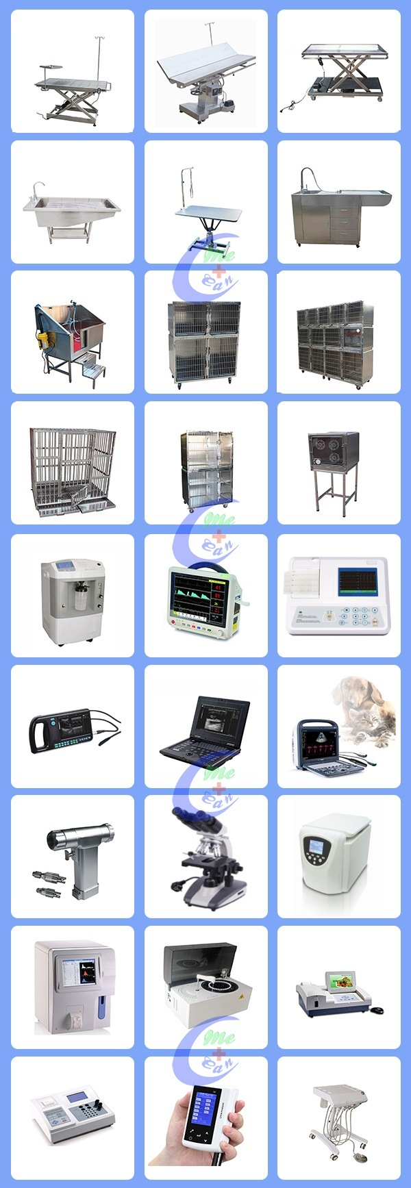 Factory Direct Sales Veterinary Table