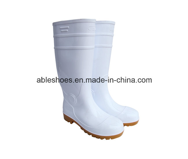 PVC Safety Boots for Men, Safety Work Boots