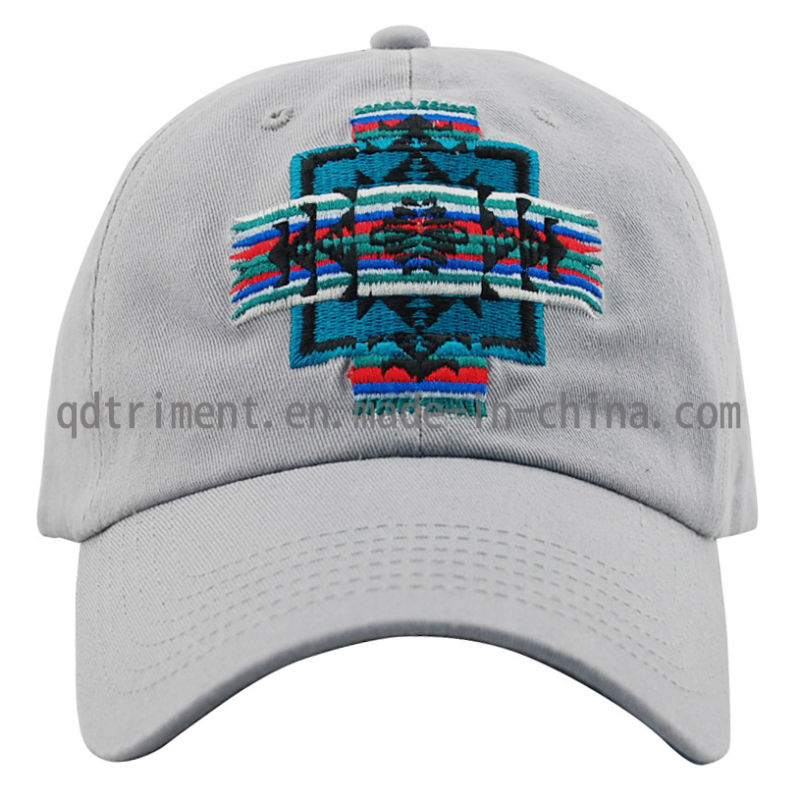 Washed Cotton Twill Embroidery Sport Golf Baseball Cap (TMB0831)