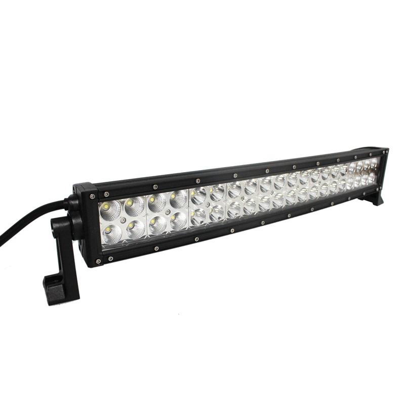 off Road SUV Driving Light Car Truck LED Curved Light Bar 120W