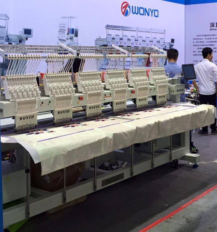 6 Heads Swf Embroidery Machine in Korea Computer Embroidery Machine