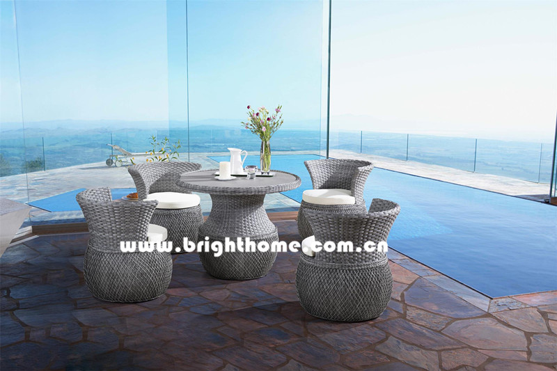 New Design Outdoor Wicker Leisure Furniture Bp-3060