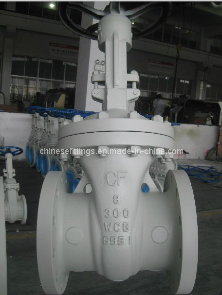 A216 Wcb Hand Wheel Cast Steel Flange Wedge Gate Valves