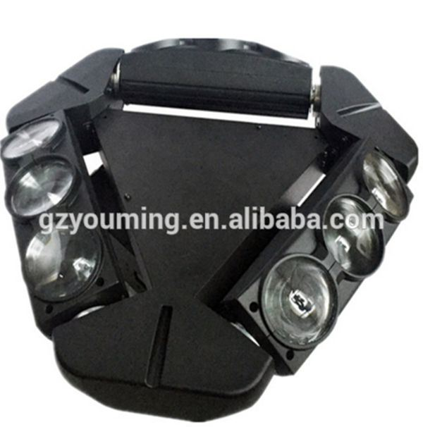 9X10W RGBW CREE LED Triple Sweep Beam Moving Light