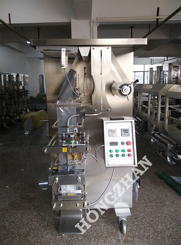 HP1000L Liquid Filling Machine with Side and Back Pillow Sealing for PE Laminated Composite Film Bag