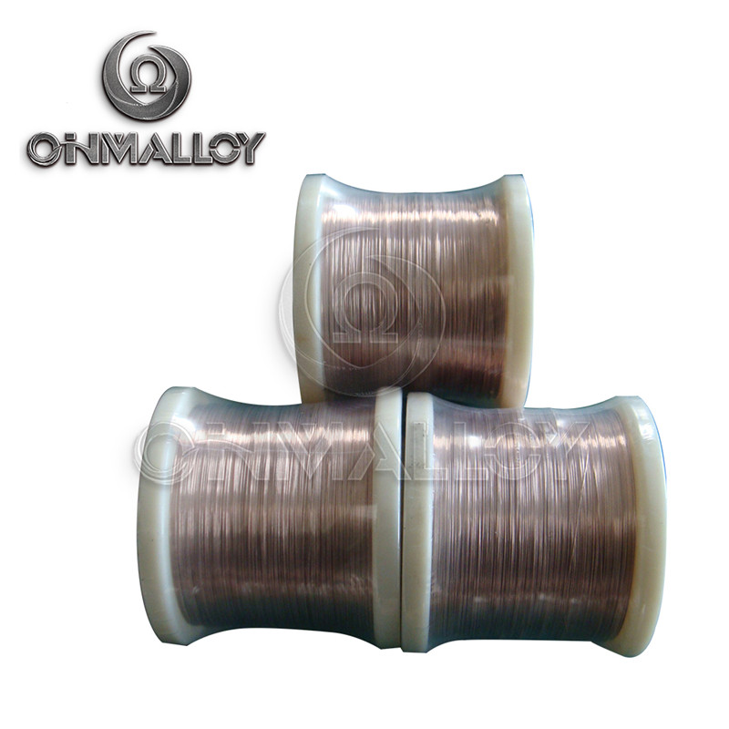 0.5mm 0.8mm Type T Cu Ni Alloy Thermocouple Bare Wire Grade I