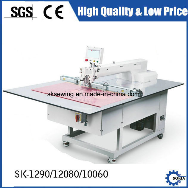Industrial CNC Pattern Computerized Automatic Template Sewing Machinery