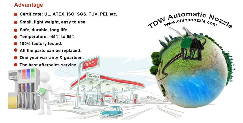 11A Automatic Fuel Nozzle with UL Listed (TDW 11A)