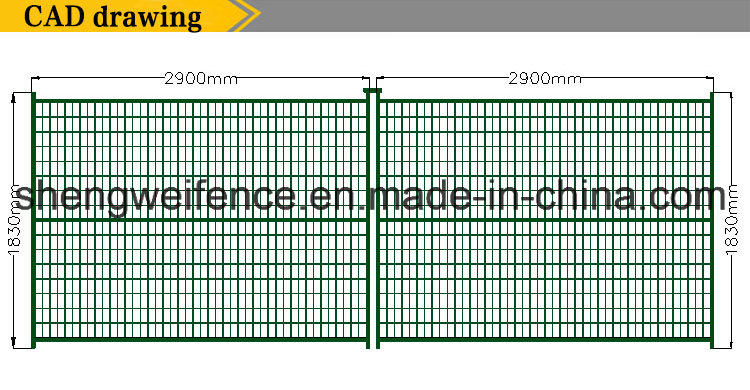 Canada Hot Construction Event Residential Safety Temporary Fence