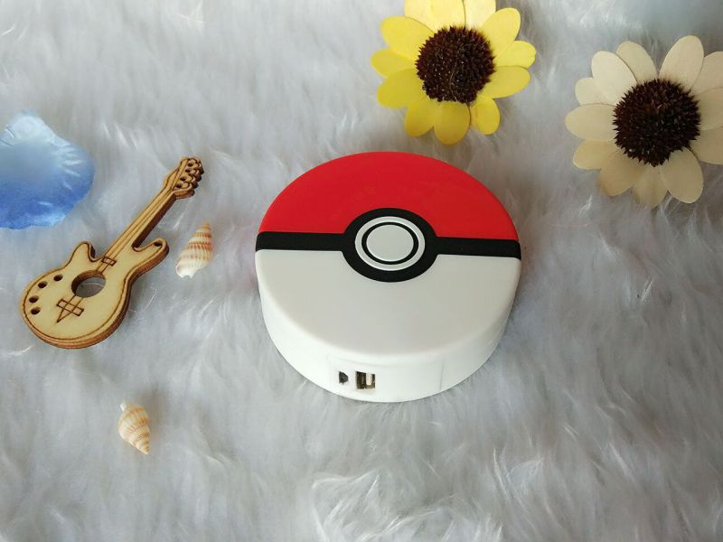 New Premium 3D Color Printing 8000mAh Mystic Team Pokemon Go Pokeball Power Bank
