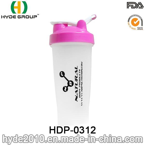 2017 Portable BPA Free PP Powder Shaker Bottle, Plastic Protein Shake Bottle (HDP-0312)