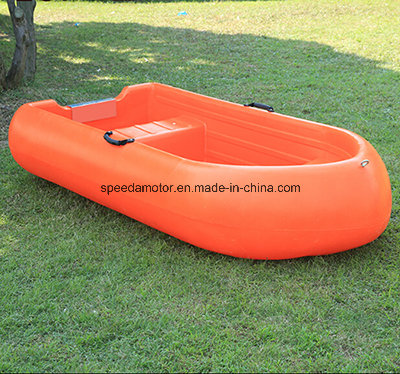 2 Persons Light Weight Small Fishing Boat PE Plastic Boat