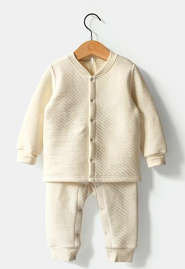 Winter Organic Cotton Body Suit Wholesale in China with Gots Certification