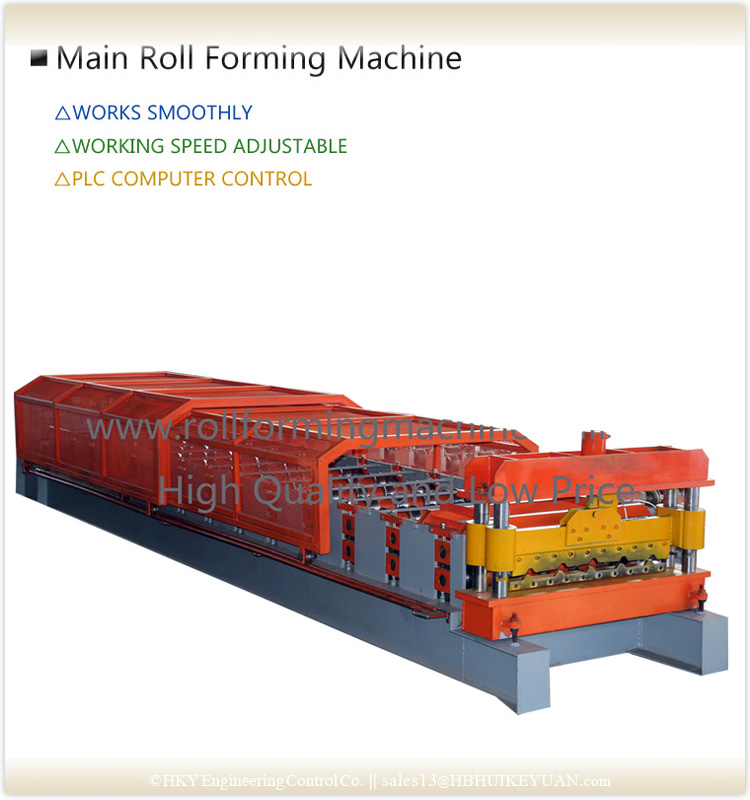 Roof Tile Making Machine Sheet Roll Forming