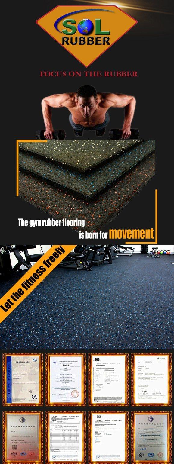 Rubber Cheap Gym Flooring
