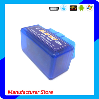 Super Mini V1.5 Elm327 Bluetooth OBD2 Adapter Auto Scanner Obdii Bluetooth Elm 327 Support All Obdii