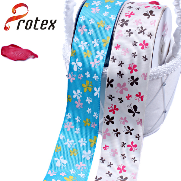 Beaufiful Grosgrain Printed Ribbon