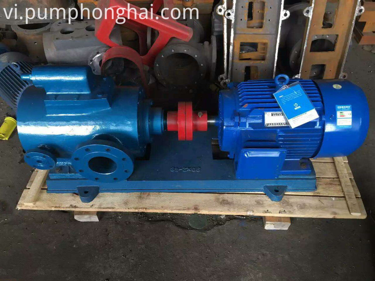 Asphalt Bitumen Screw Pump