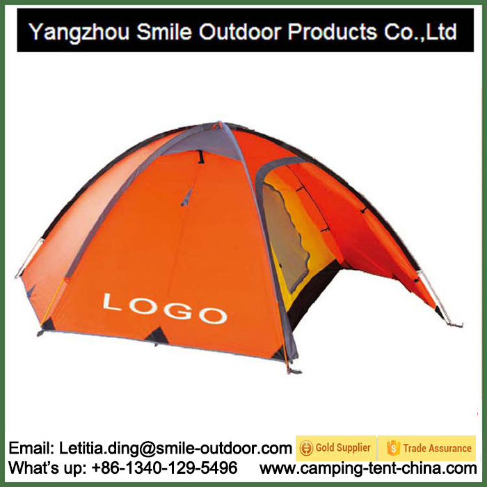 2 Person Double Layer Camping Tent Dropshipping Plastic Tent