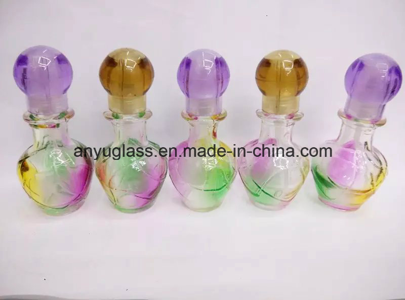 High Quality Mini Perfume/Fragrance Glass Bottles with Cap