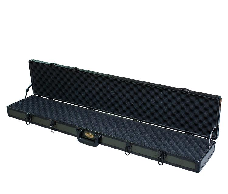 Long Rifle Aluminum Gun Case with Egg Foam Inset