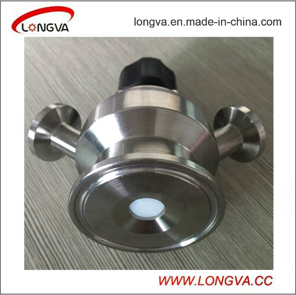 Sanitary Stainless Steel Clamp Aceptic Sample Valve