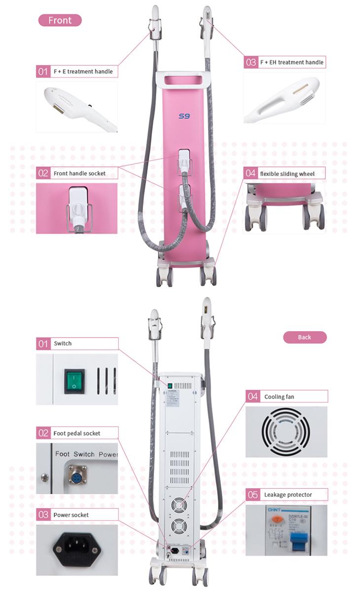 IPL Elight RF Skin Tightening Salon Machine