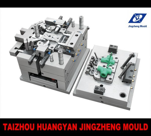 Plastic Injection PVC Pipe Fitting Mould