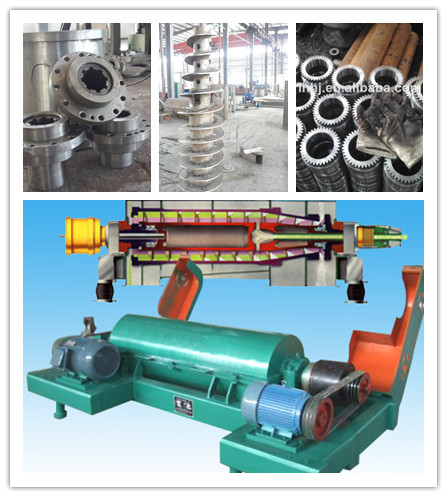 Automatic Decanter Centrifuge and Separator Machine for Fish Oil From Liaoyang Hongji