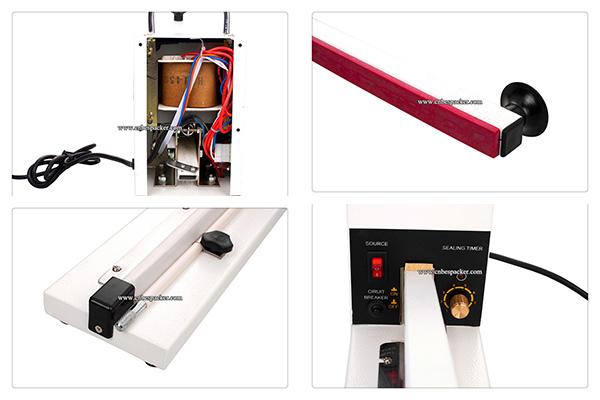 New Portable Long Type Manual Sealing Machine