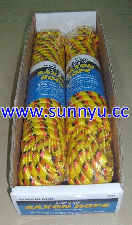 Customized PP Diamond Braided Rope