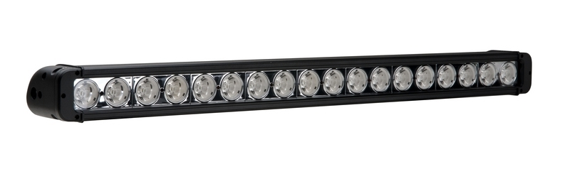 Single Row 10W CREE LED Light Bar Offroad Driving 180W 30 Inch