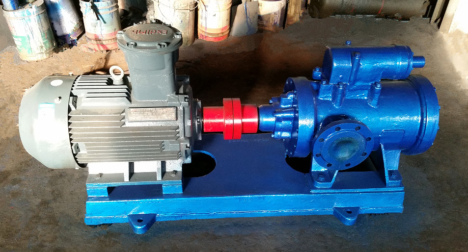 three screw fuel oil pump