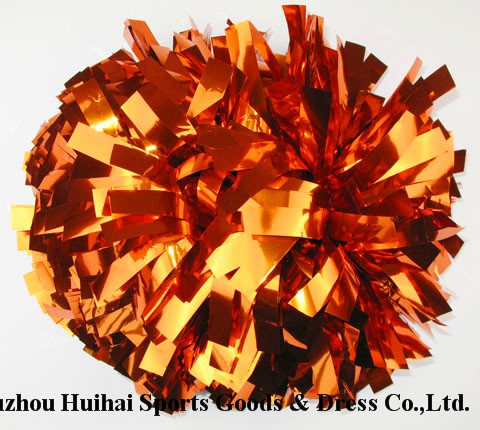 2016 Metallic Orange POM Poms
