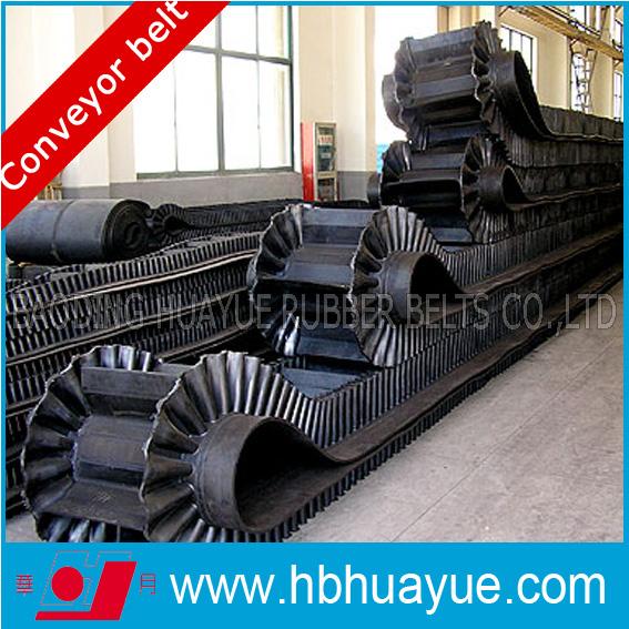 Good Quality Ep/Nn/Cc Corrugated Sidewall Conveyor Belt From China