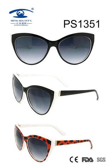 Cat Eye Style PC Sunglasses (PS1351)