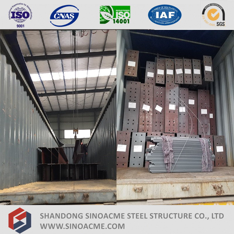 Prefabricated High Rise Metal Structure Industrial Building