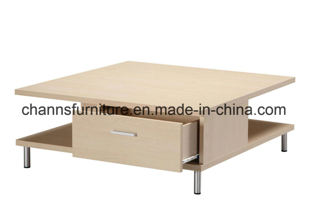 Good Quality Office Coffee Table with Drawer (CAS-CF1804)