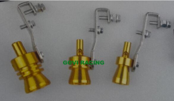 Aluminium Turbo Sound Silver Exhaust Whistle Polished Whistler