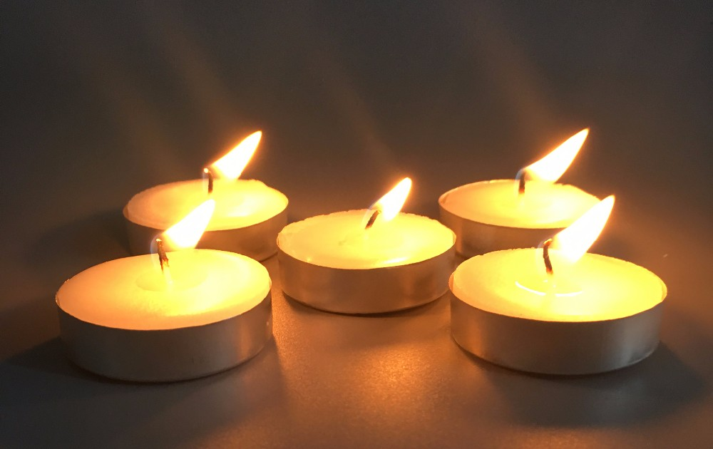 Lighting Tealights Candle