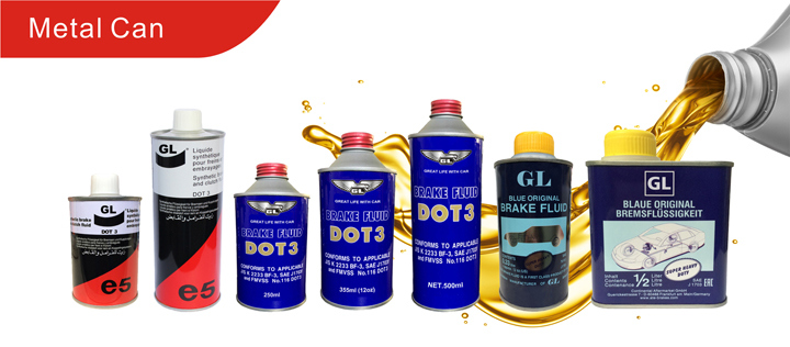 Wholesale Good Quality Hydraulic Brake Fluid DOT-3