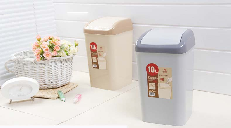 New Design Very Fashion Plastic Household Waste Bin