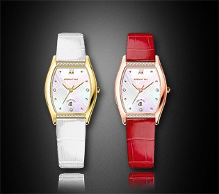 Cheap Square Diamond Leather Strap Quartz Ladies Wrist Watch