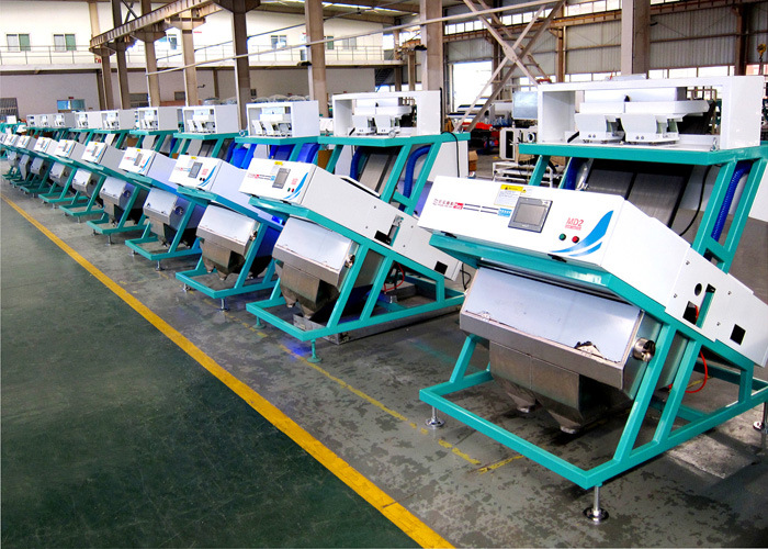 Hons New Design High Quality High Accuracy Two Chutes Multi-Functional Classical CCD Rice Color Sorter Machine