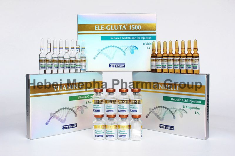 Glutathione Injection, Vc Injection, Alpha Lipoic Acid Great Effect to Skin Whitening, Anti-Aging