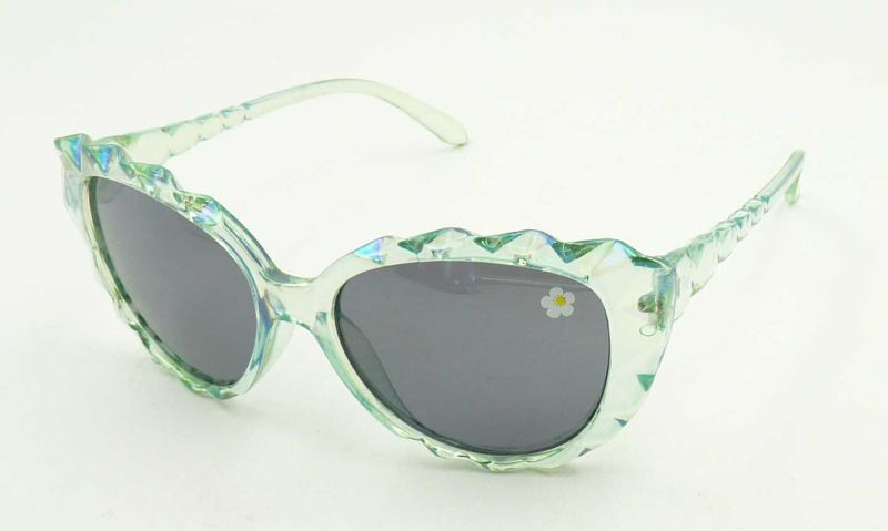Kqp16935 New Design Beautiful Kids Sunglasses Girls Elegant
