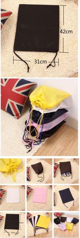 Shoe Carrier Bag Logo Printed Drawstring Non Woven Shoe Travel Bag